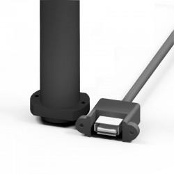 Alimentation USB déportée + support de piles 2x AA