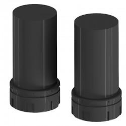 Battery holder - 2x 1x C